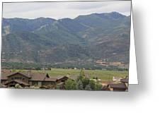 Park City Utah Greeting Card