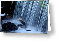 Park City Waterfall Greeting Card