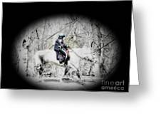 Park Police Greeting Card by Rrrose Pix
