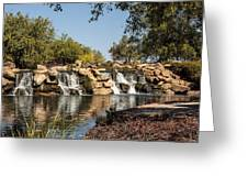 Park Reflections Greeting Card