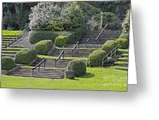 Park Stairs Greeting Card