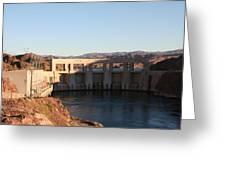 Parker Canyon Dam Greeting Card