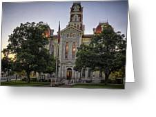 Parker County Courthouse Greeting Card