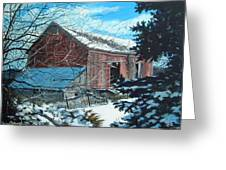 Parker Road Barn Greeting Card