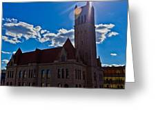 Parkersburg Courthouse Greeting Card