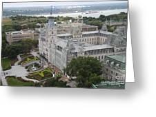 Parlament Quebec  Greeting Card