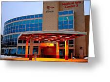 Parma Hospital Med Arts Three Greeting Card