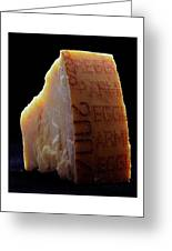 Parmesan Cheese Greeting Card