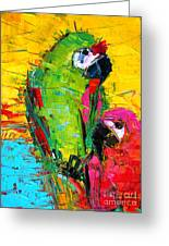 Parrot Lovers Greeting Card
