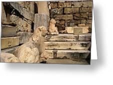 Parthenon 6 Greeting Card