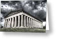 Parthenon Of Nashville Greeting Card