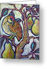Partridge In A Pear Tree 1 Greeting Card