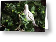 Partridge In The Ivy Greeting Card