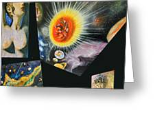 Parts Of Universe Greeting Card