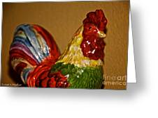 Party Chicken Greeting Card