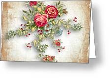 Party Of Roses  Greeting Card