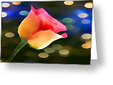 Party Rose Greeting Card