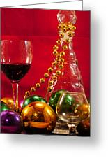 Party Time Greeting Card by Anthony Walker Sr