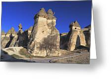 Pasabag Goreme National Park Cappadocia Turkey Greeting Card