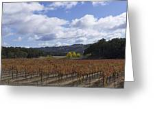 Paso Robles Autumn Greeting Card