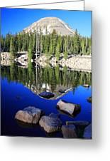 Pass Lake Greeting Card