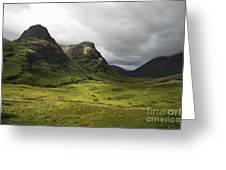 Pass Of Glencoe - D002455 Greeting Card