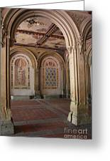 Passage Bethesda Terrace Nyc Greeting Card