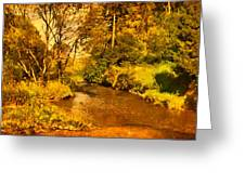 Passage Down The River Greeting Card
