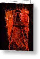 Passage To Hell Greeting Card