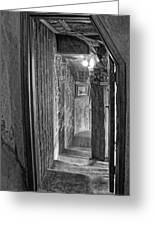 Passageway At Fonthill Castle Greeting Card