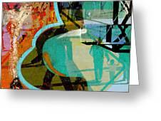 Passangers Paintbrush  Greeting Card