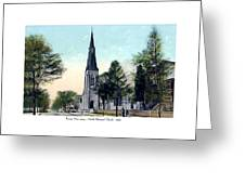 Passiac New Jersey - Norht Reformed Church - 1910 Greeting Card