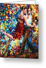Passion Dancing Greeting Card