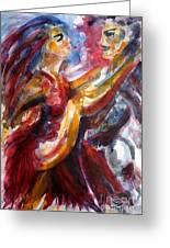 Passion Is Tango Greeting Card