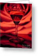 Passion Martini Greeting Card