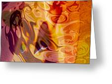 Passion Represents Color Greeting Card