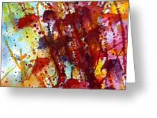 Passion Rising Greeting Card