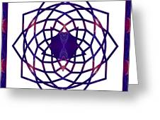 Passionate Purple Prayers Abstract Chakra Art By Omaste Witkowsk Greeting Card
