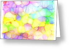 Pastel Abstract Patterns IIi Greeting Card