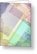 Pastel Abstract Greeting Card