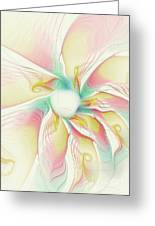 Pastel Flower Greeting Card
