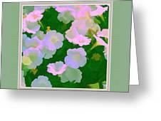 Pastel Flowers II Greeting Card