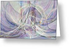 Pastel Fractal Greeting Card