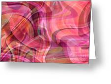 Pastel Power- Abstract Art Greeting Card