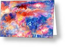 Pastel Storm By Spano  Greeting Card