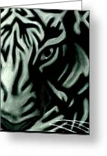 Pastel Tiger Greeting Card
