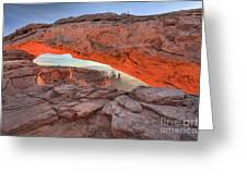 Pastels At Canyonlands Greeting Card