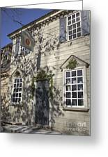 Pasteur And Galt Apothecary Williamsburg Virginia Greeting Card