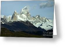 Patagonia Mount Fitz Roy 1 Greeting Card