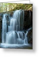 Patapsco Waterfall Greeting Card